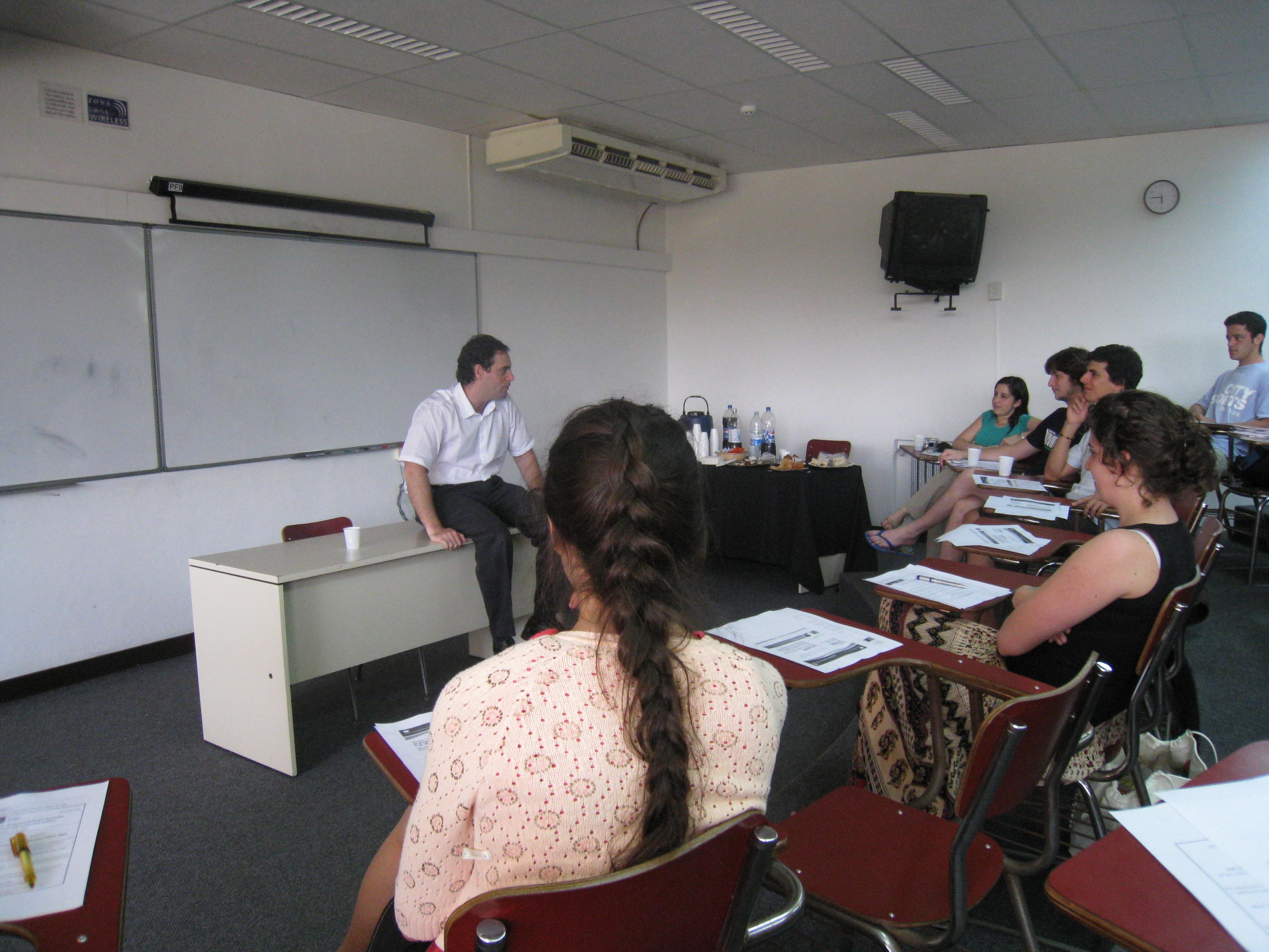 Charla para emprendedores sociales en la UdeSA