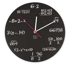 reloj math