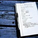 Una lista de cosas que no hay que hacer