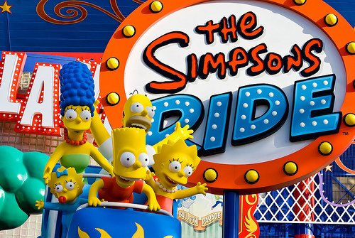 Simpsons ride