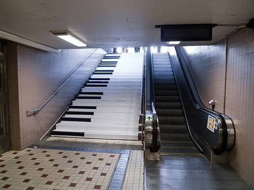 ¿Por qué escalera subirías?