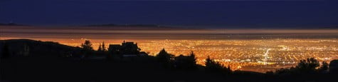 Silicon Valley de noche