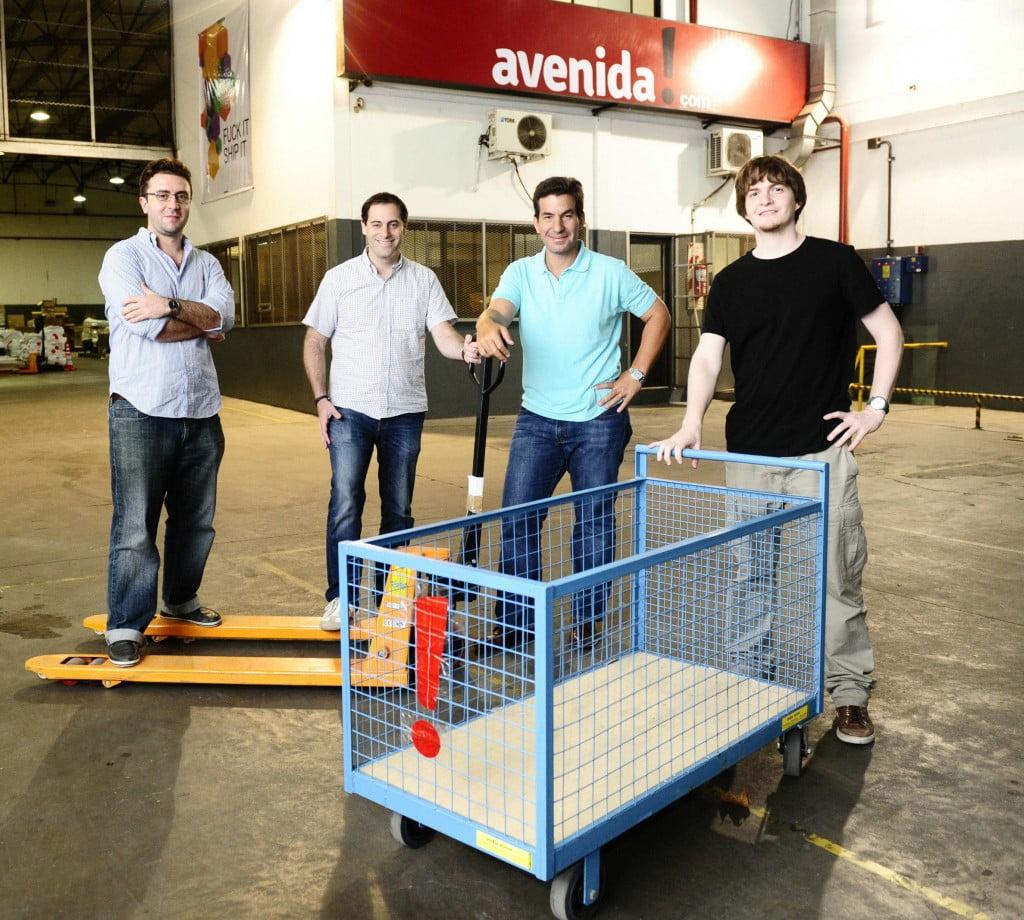 El equipo fundador de Avenida.com
