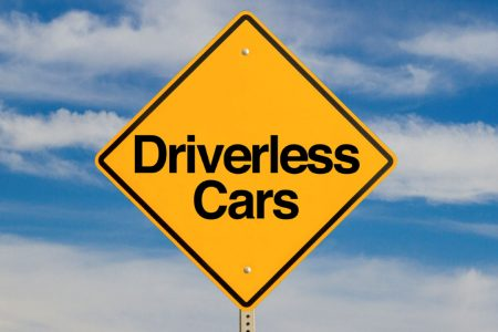Driverless-car-sign